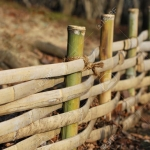 traditional-japanese-bamboo-fence-in-garden-selective-focus-on-second-vertical-pole-Stock-Photo