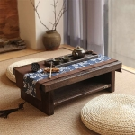 Oriental-Antique-Furniture-Design-Japanese-Floor-Tea-Table-Small-Size-60-35cm-Living-Room-Wooden-Coffee-3