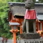 Inari-Fox-Statue