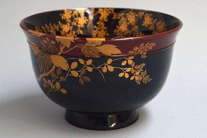 Maki-e Lacquer Meiji Haisen-800
